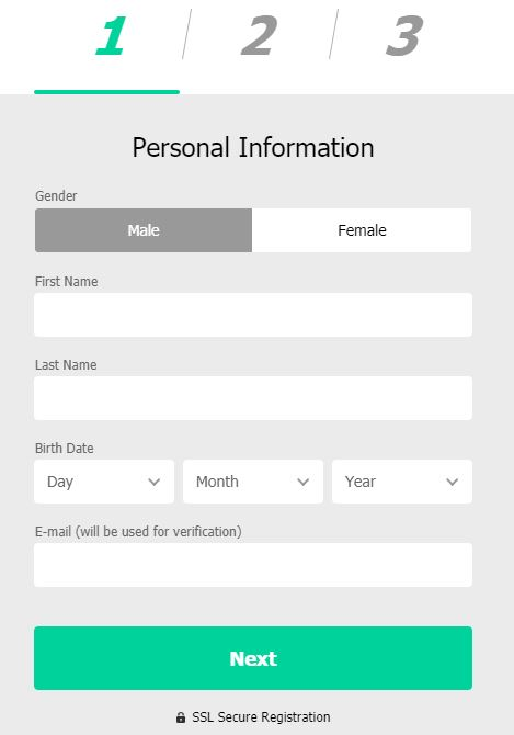 MoPlay Registration Form